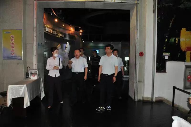 馮志君在中國煤炭博物館調研指導