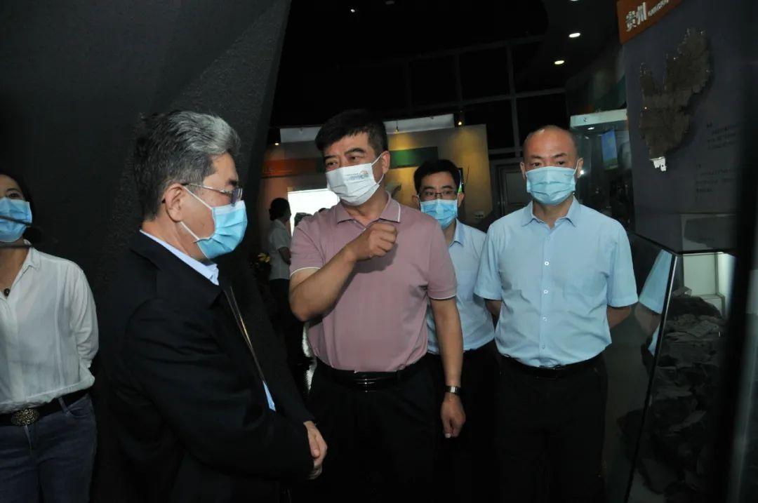 陈健在中国煤炭博物馆调研